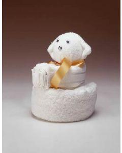 Towel dolls babybeer (kraamcadeau)
