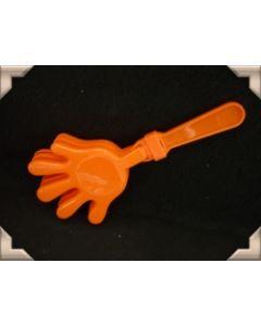 Oranje klepper met ratel