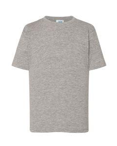 5-pack Kids T-shirt in grey melange