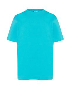 5 pack Kids T-shirt in turquoise