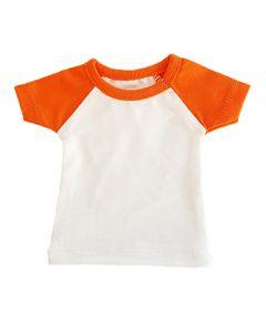T-shirtsz mini t-shirt white/orange