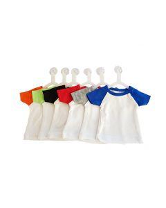 T-shirtsz mini t-shirt white/lime