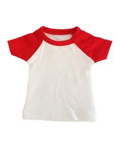 T-shirtsz mini t-shirt white/red
