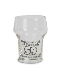 Mini bierglas Guinessbook of records
