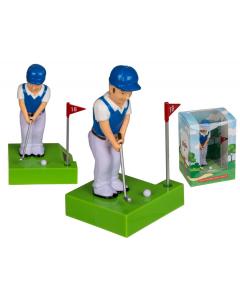 Beweegbare figuur golfer