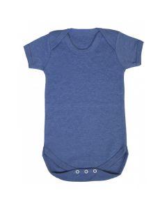 T-shirtsz romper korte mouw marl ice blue